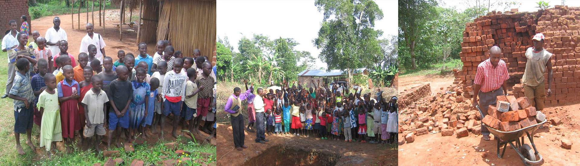Building of Orphanage in Uganda