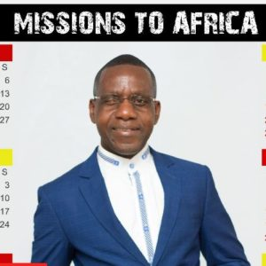 2018 Missions to Africa Calendar