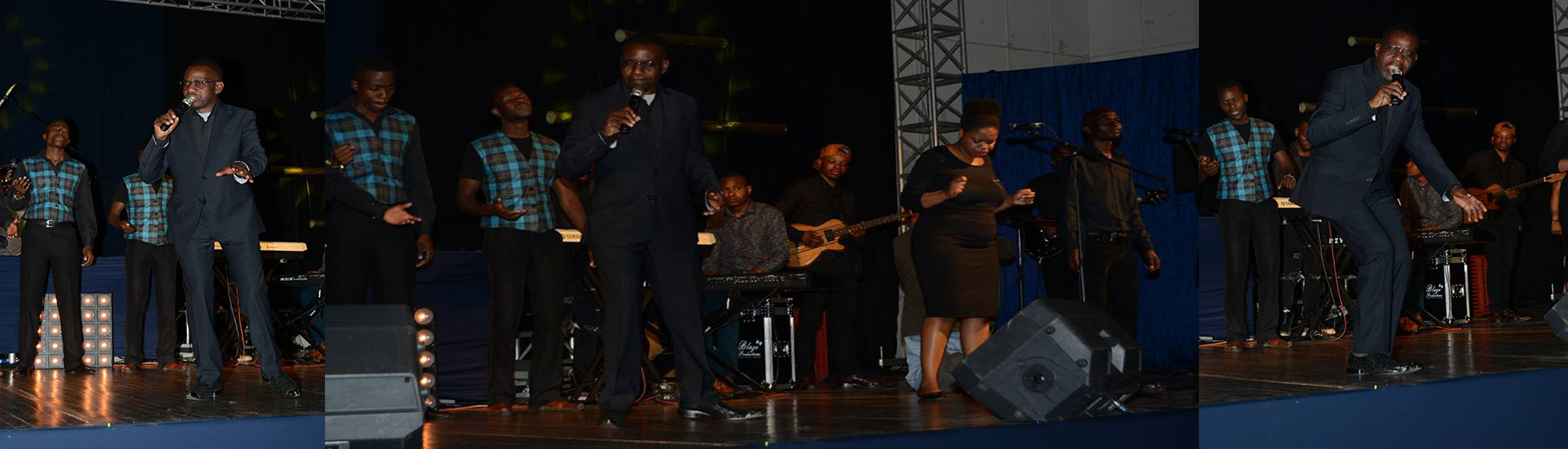Pastor Ndamba ministering