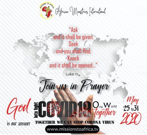 Covid19 prayers
