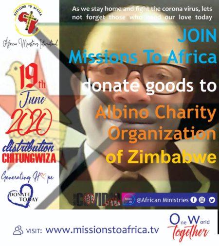 Albino charity of Zimbabwe